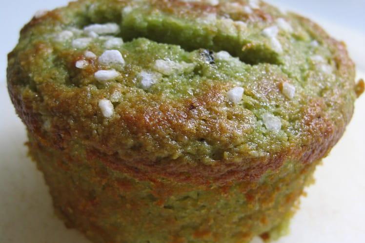 Muffins moelleux à la pistache