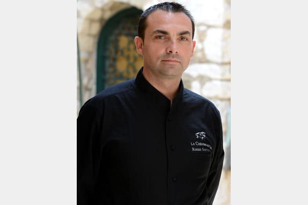 Ronan Kerravec, chef de la Chèvre d'Or