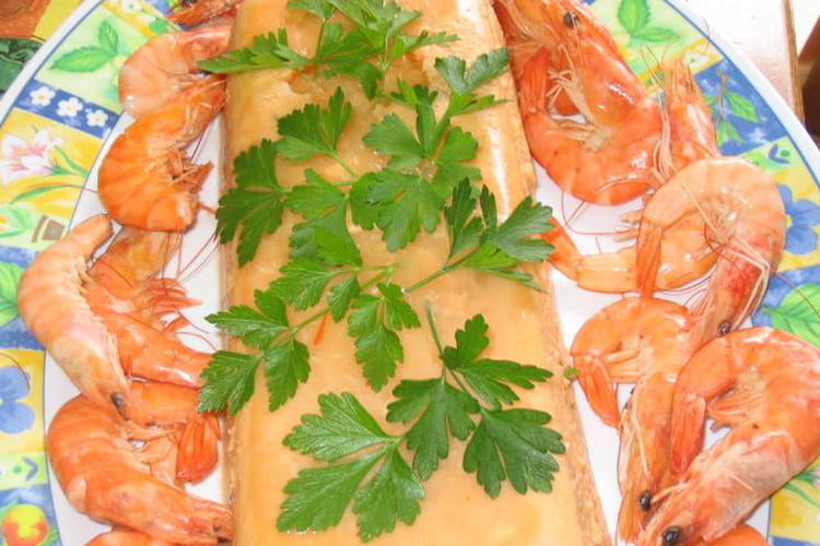 Terrine raffinée à la bisque de homard