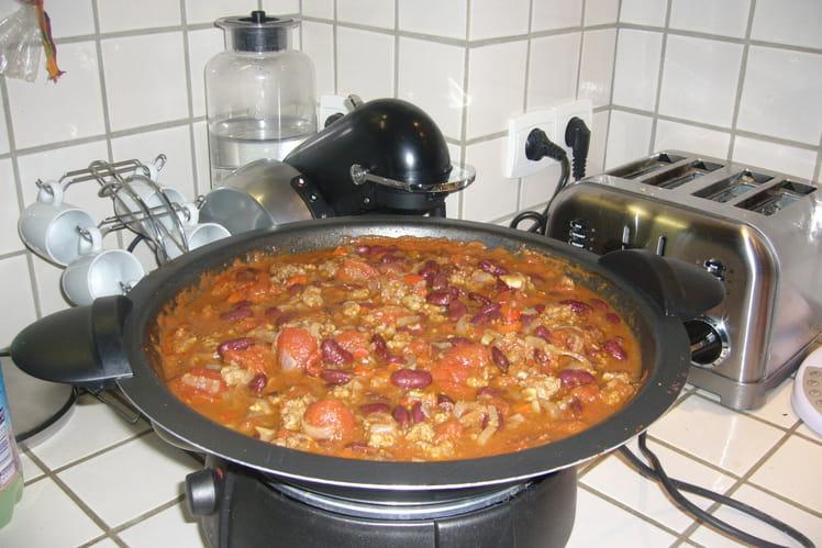 Chili con carne doux