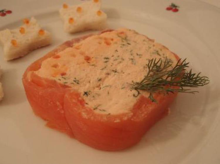 Recette de terrine aux deux saumons simple et rapide la for Entree simple et rapide