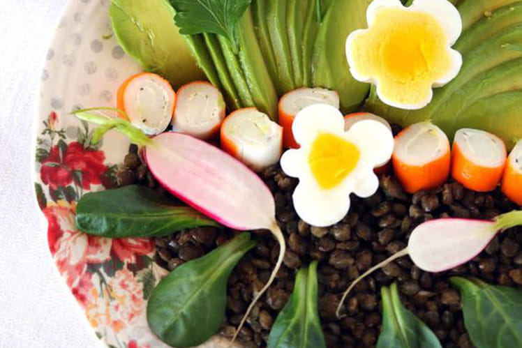 Power salad bowl