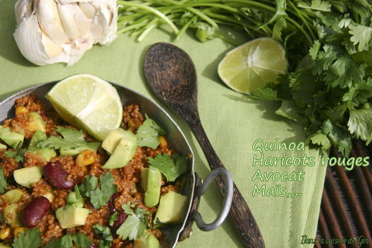 Quinoa façon mexicaine