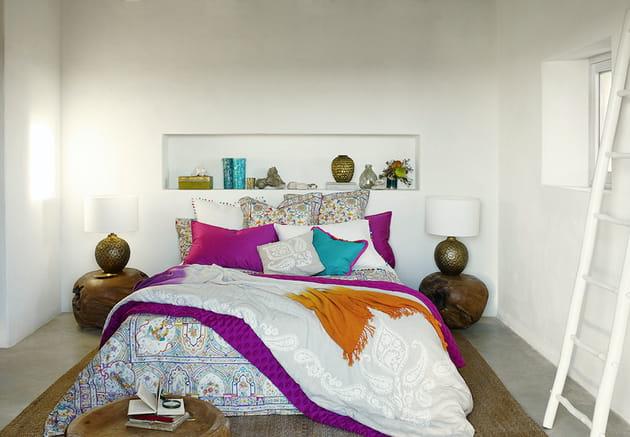 Couverture en lin dégradé de Zara Home