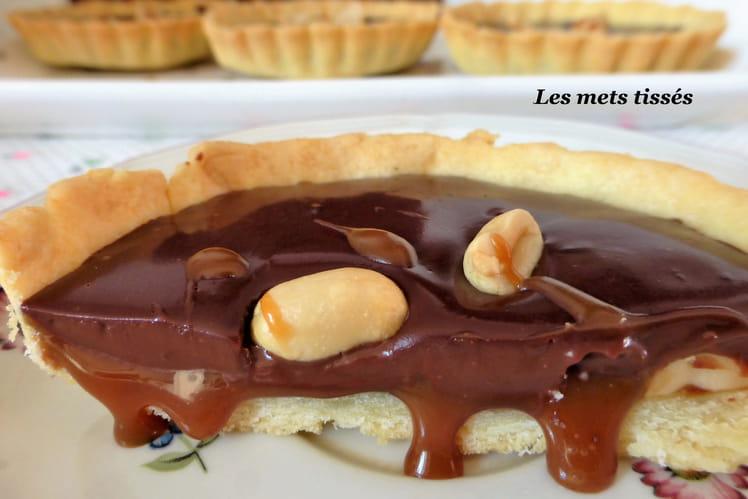 Tartelettes choco-caramel