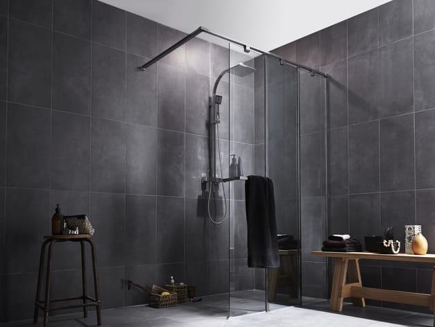 Une Douche à L Italienne à 3 Parois De Leroy Merlin
