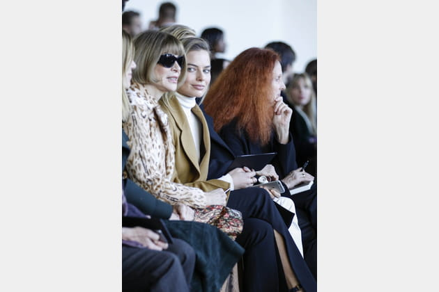 Anna Wintour, Margot Robbie et Grace Coddington