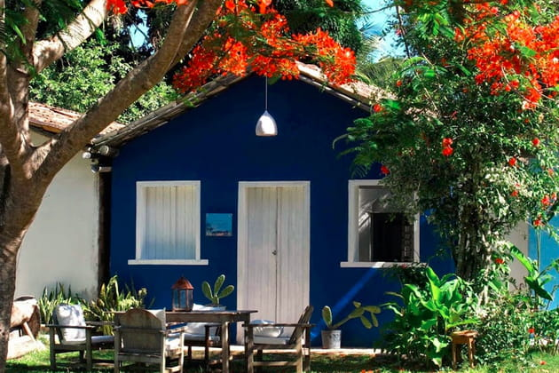Hôtel Uxua Casa à Bahia (Brésil) signé Wilter Das