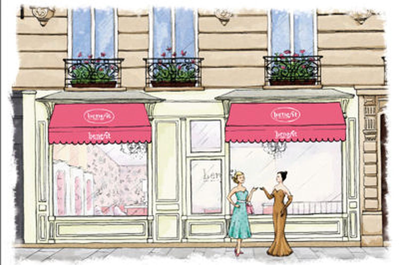 Benefit ouvre sa première boutique à Paris