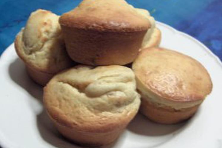 Muffins praline et amandes grillées