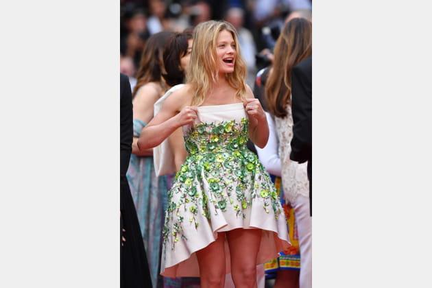 Mélanie Thierry a peur de perdre sa robe