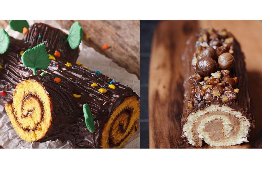 Bûche aux marrons VS bûche au chocolat: le match des desserts de Noël