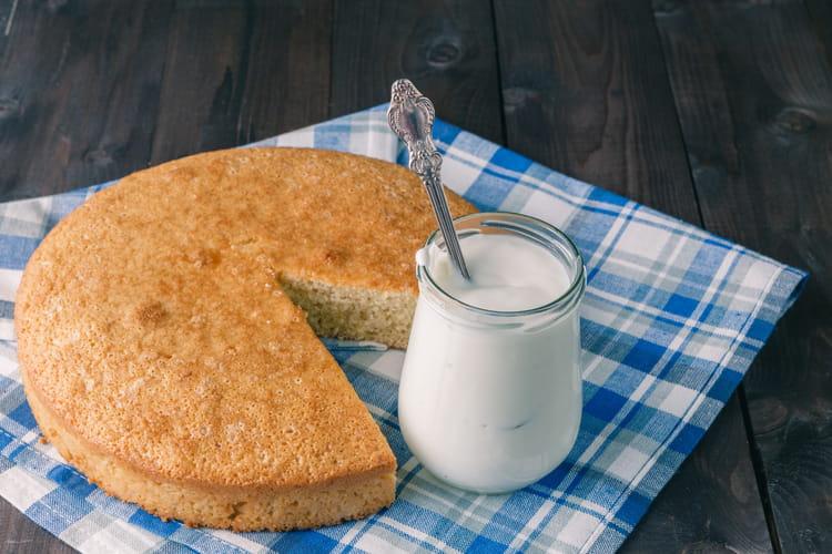 Gâteau au yaourt à la crème fraîche