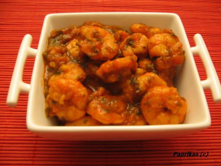 recette de crevettes 224 la sauce tomate la recette facile