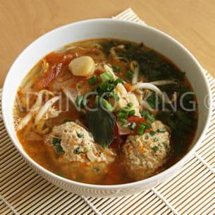 bun rieu, soupe de crabes vietnamien