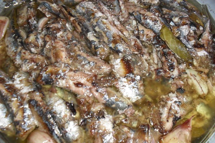 Sardines à l'escabèche (sans cuisson)