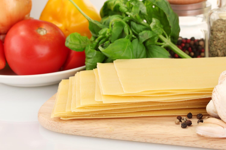 Pâtes à lasagnes