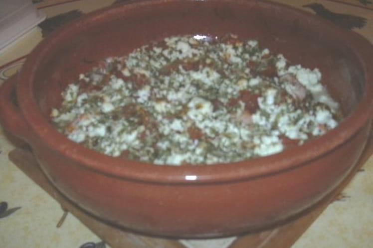 Crevettes yiouvetsi