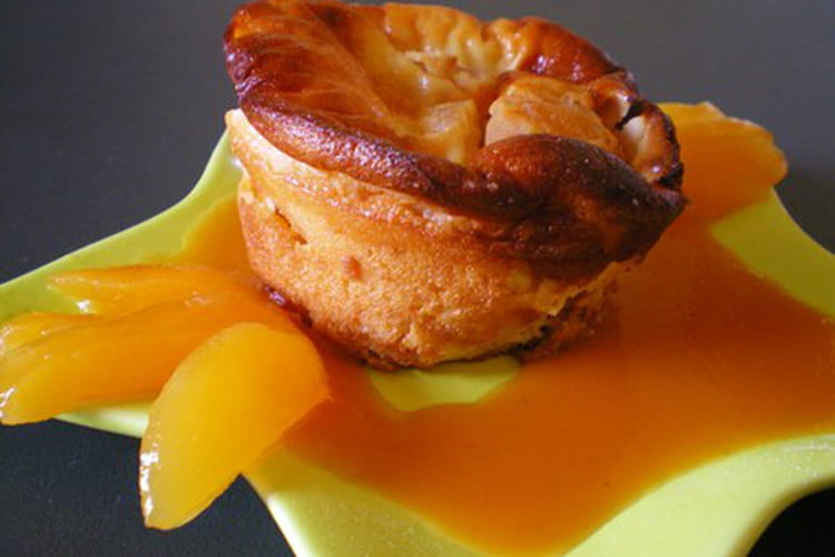 Clafoutis abricots-miel