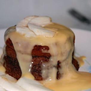 petits fondants à la crème de marrons et aux pommes