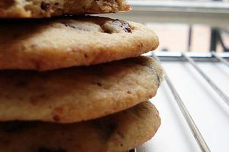 Cookies gourmands aux pépites de chocolat