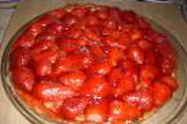 Tarte aux fraises fraîches