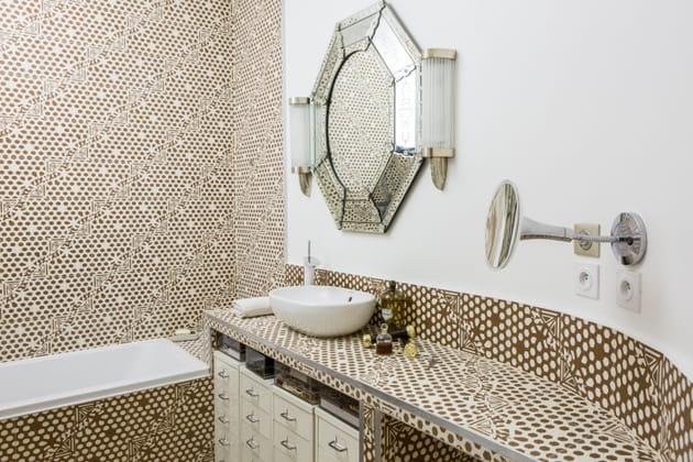 Salle de bain Art déco et moderne
