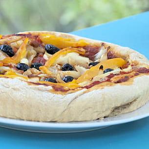 sfincione (pizza sicilienne)