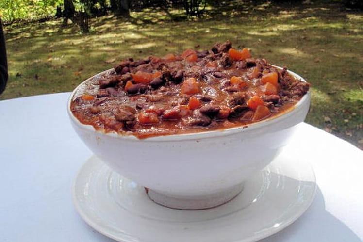 Chili con carne familial