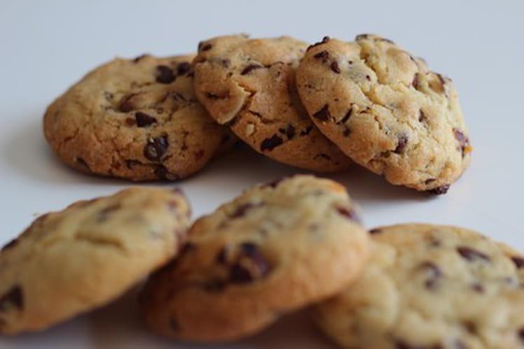 Cookies chocolat noisette