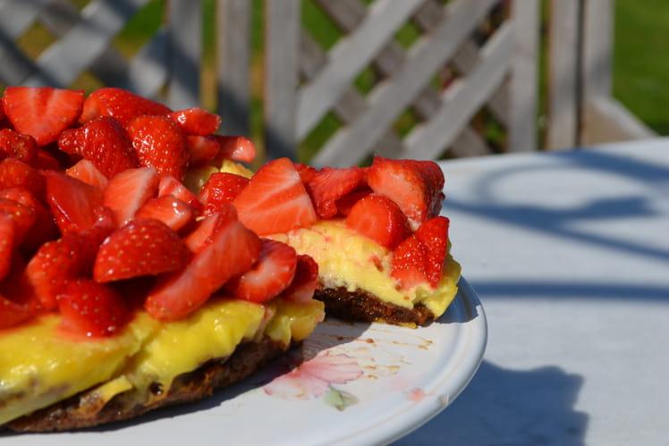 Cheesecake à la fraise de Desperate Housewives