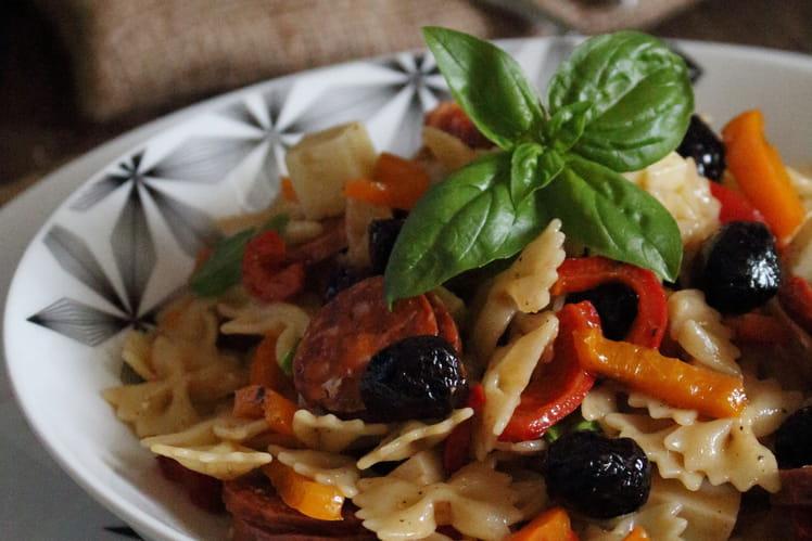 Salade de pâtes Piccolini Sicilienne