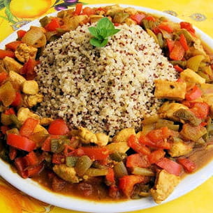 poulet au quinoa