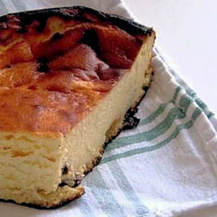 sernik à ma façon (gâteau au fromage polonais)