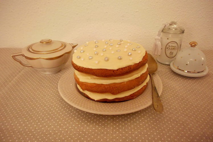 Naked cake au Golden Syrup