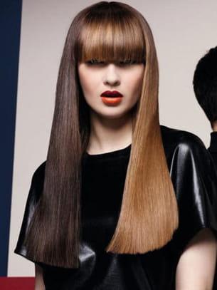Des Cheveux Longs En Mode Graphique