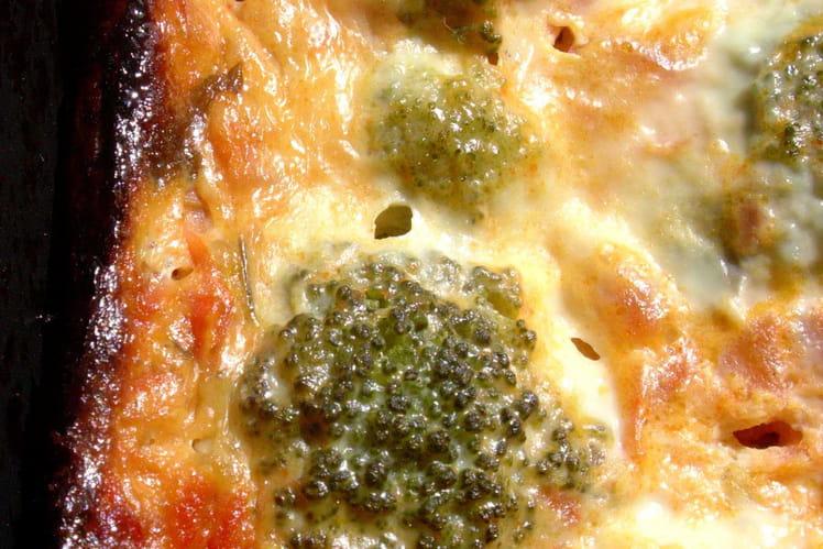 Pain de brocolis et de tomates