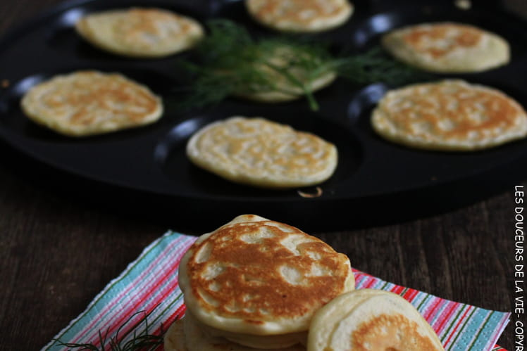 Blinis moelleux à l'aneth