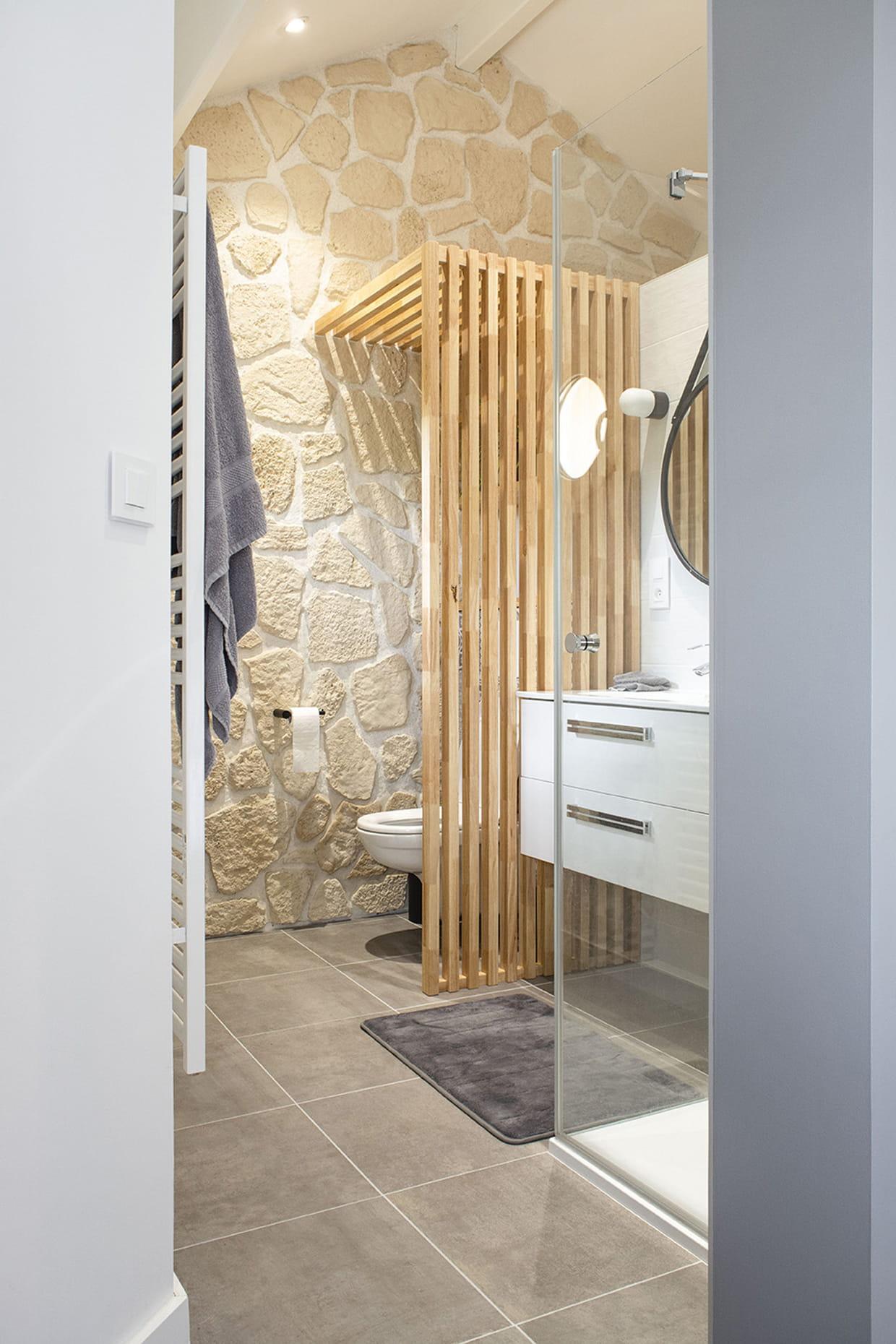 Abriter les WC sous un claustra