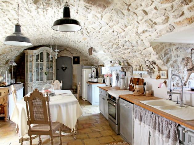 Une cuisine style brocante - Cuisine style brocante ...