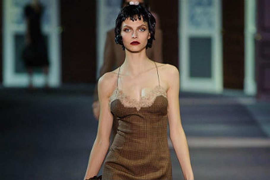 4d245b06f4d3 Fashion week Paris   défilé intimiste chez Louis Vuitton prêt-à-porter  automne-hiver 2013-2014