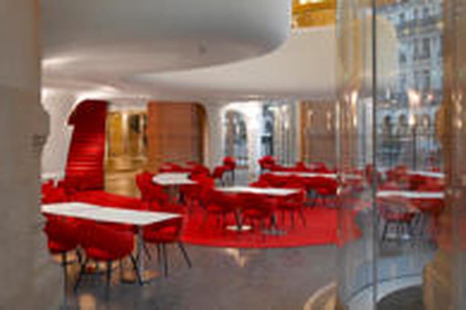 L'Opéra Garnier accueille un restaurant design