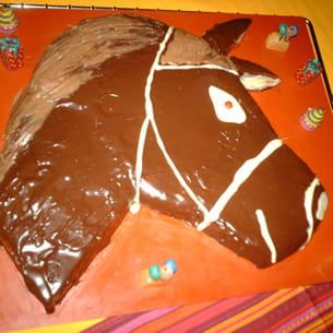 gâteau 'cheval'