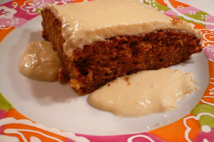 Gâteau aux carottes des USA