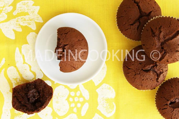 Moelleux chocolat, coeur fondant choco