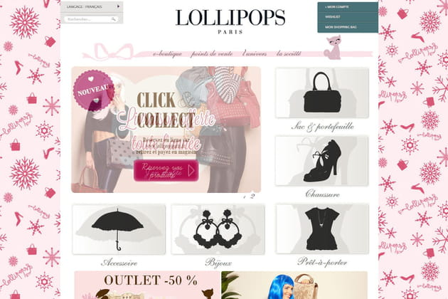 Le e-shop de Lollipops