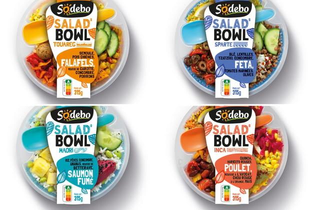Les salad'bowls Sodebo