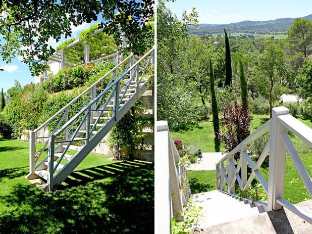 Un jardin avec vue
