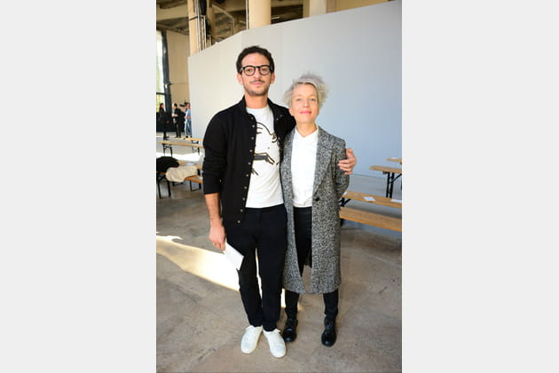 Vincent Dedienne et Jeanne Added