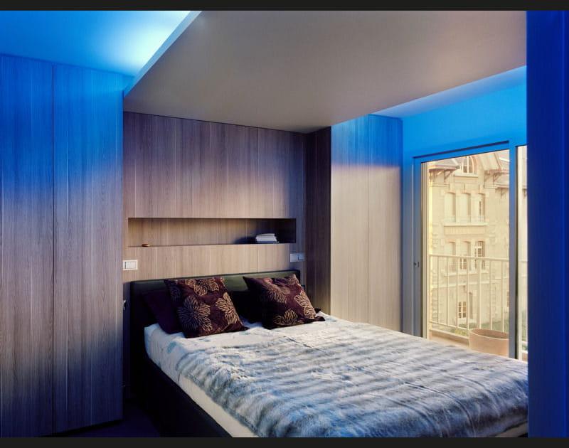 Une chambre contemporaine et intimiste